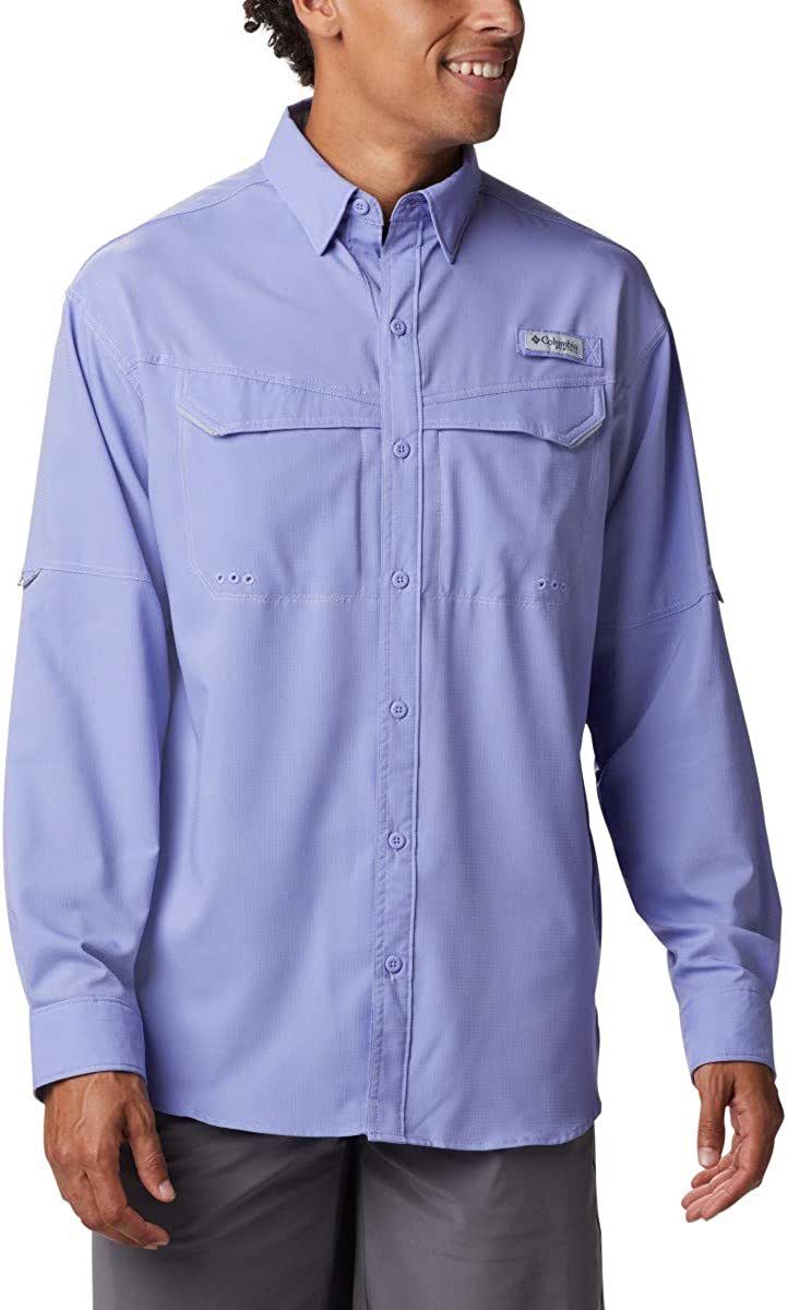 Columbia Men's Low Drag Shirt Rapid rise Offshore Many popular brands Long-Sleeve