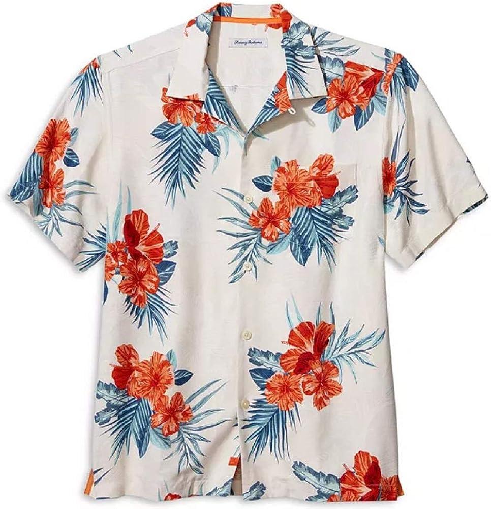 Tommy Bahama Hilo Hibiscus Silk Camp Shirt