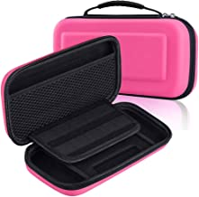 Mivofun Hard Travel Case for Nintendo Switch, EVA Shell Water-Resistant Cover Carrying Storage Bag Portable Pouch for Nint...