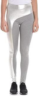 null Pinko Women's 1L104FY39HII8O Silver Polyamide Leggings