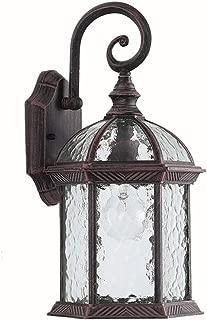 LONEDRUID Led Outdoor Wall Light Fixtures Exterior Wall Lantern 16.10