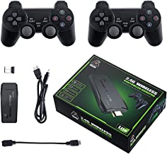 $81 » DDARKHORSE M8 Plus Quad-core TV Video Game Console,4K HD Built-in 10000+ Games PS Retro Games, with Game Controller for PS...