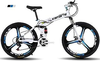 """FJW Bicicleta de montaña para Hombres, Ruedas de 26""""de"""
