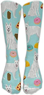 Tube High Cute Hedgehog Keen Sock Boots Compression Long Stockings For Athletics,Travel Socks