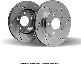 (Front Rotors) 2 HD SPEC Cross Drilled Brake Rotors(Saturn)-(4lug)