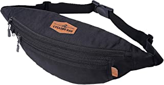 AQIWO Fanny Pack for Men Women Large Capacity Waist Bag for Travel,Hiking,Cycling