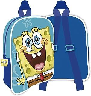SB13210 Mochila de 28x22.5x7cm de Nickelodeon-Bob Esponja