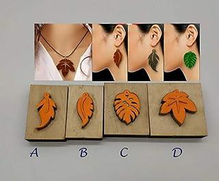 4de009a68 WellieSTR 4 Stlye Japan Steel Blade Rule Die Cut Steel Punch Earrings  Ornaments Cutting Mold Wood