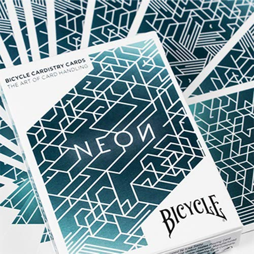 SOLOMAGIA Bicycle Neon Cardistry Playing Cards