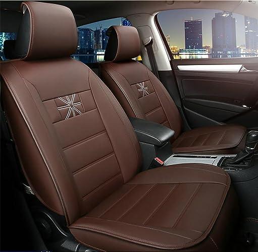 AMYMGLL voiture Seat Cover Whole Standard Edition en cuir (7set) et Edition Deluxe (11Réglez) Case voiture Universal Four Seasons 5 couleurs ,  35