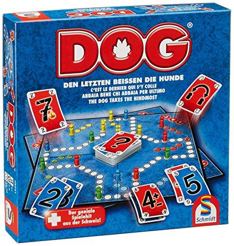 Schmidt Spiele 49331 DOG, Den Letzten beissen die Hunde, Familienspiel, FFP Artikel