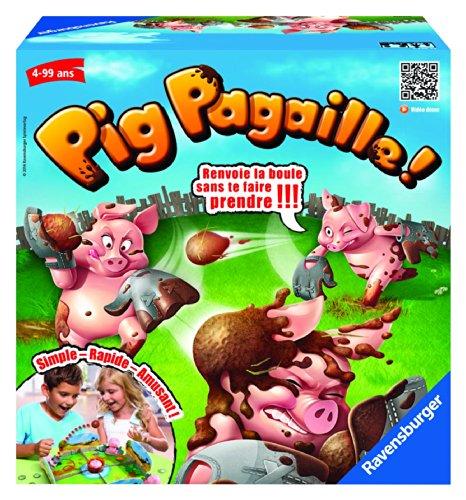 Ravensburger - 22310 - Jeu d'action Et De Réflexe - Pig Pagaille