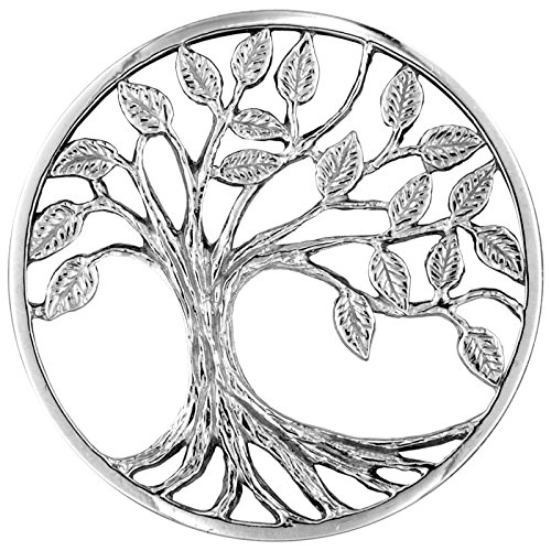 MY iMenso 3D Lebensbaum Insignie Silber 33 mm 33-1362