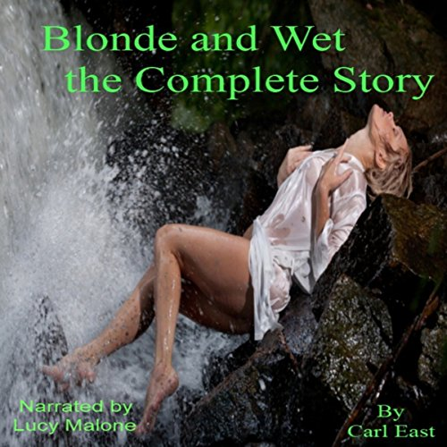 Blonde and Wet the Complete Story audiobook cover art