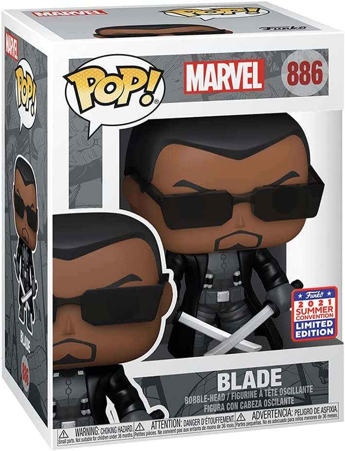 POP! Marvel: Blade Vinyl Figure - 2021 Summer Convention Shared Exclusive