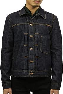 [ヌーディージーンズ] Nudie Jeans 正規販売店 メンズ アウター デニムジャケット SONNY DENIM JACKET RINSE BLUE 160590 (コード:4133966201)