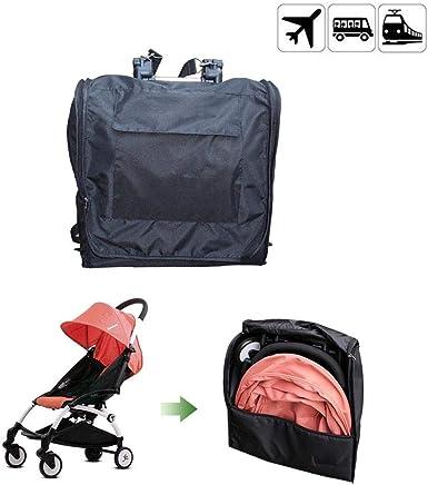 Futureshine Check Travel Bag with Backpack Shoulder Straps, Lightweight Baby Car Seat Storage Bag Stroller