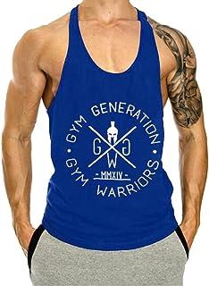 Karl Aiken Men's Tank Top Gym Workout Tank Top Bodybuilding Sleeveless