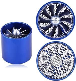 Fuel Saver - 1 PC of 55mm Car Single Fan Turbine Super Charger,Air Intake Turbonator,Gas Fuel Saver Turbo.