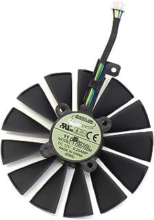 iHaospace 95MM T129215SM FDC10M12S9-C 4Pin 12V Graphics Card Fan for ASUS ROG Strix GTX 1050Ti 1060Ti 1070Ti 1080Ti RX 470 570 580 RX470 RX570 RX580