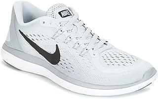 Nike Women's Flex 2017 RN Running Shoe (5, Pure Platinum/Black/Wolf Grey/Cool Grey)