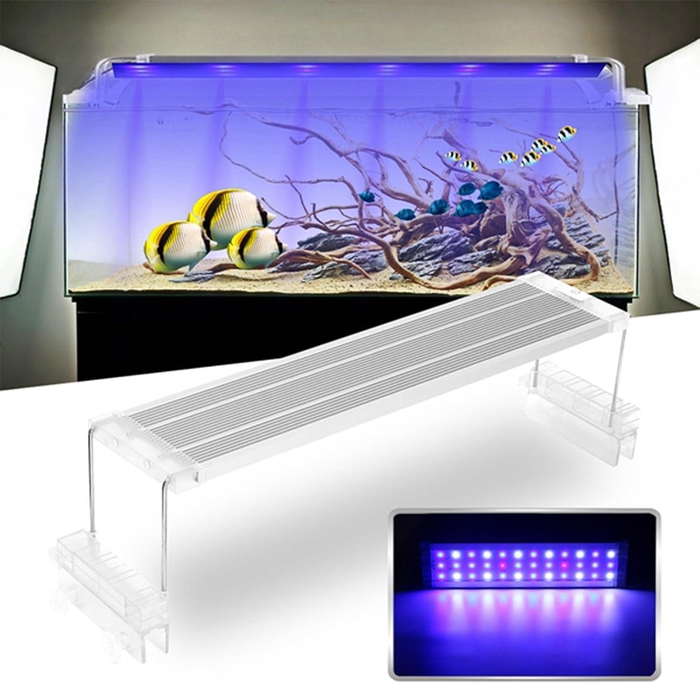 ZHENWOFC 45 cm cm cm 18 watt touch schalter led aquarium licht clip zwei modi aquarium lampe anlage wachsen licht 220 v Innenlicht B07N5DXX6F | Viele Sorten  a1bc0d