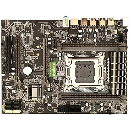 CNmuca Computador de mesa Real X79 para placa-mãe 2011 Pin Quatro canais DDR3 slot de memória M.2 USB3.0SATA3.0 Deluxe Edition preto