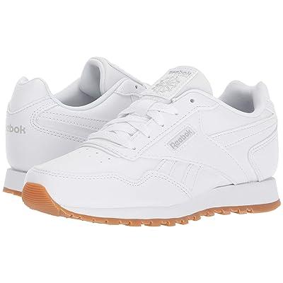 Reebok Kids CL Harman Run (Little Kid/Big Kid) (White/Steel Gum) Kids Shoes