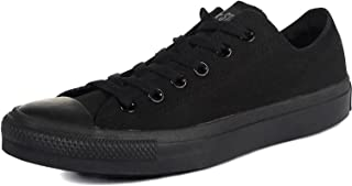 Converse Unisex Chuck Taylor All Star Ox Low Top Classic Black/Black Sneakers - 6 B(M) US Women / 4 D(M) US Men
