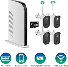 Security Camera Wireless, NexTrend Rechargeable Battery...