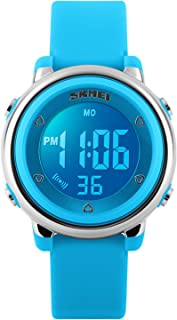 Kids Digital Sport Waterproof Watch for Girls Boys, Kid...