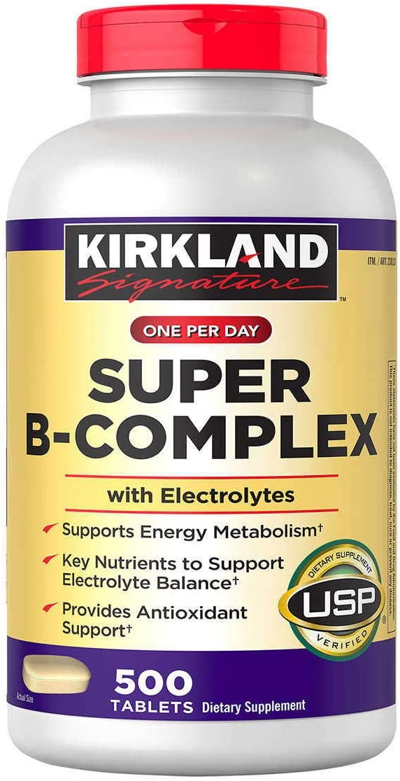 Kirkland Signature Free shipping One Per Day with Minneapolis Mall Super B-Complex Electrolytes