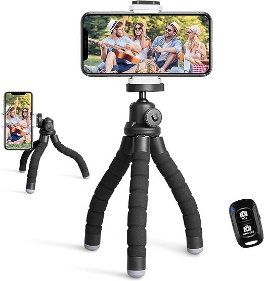 A tripod for a camera with remote