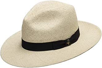 Ultrafino Fedora Packable Foldable Panama Straw Hat Classic