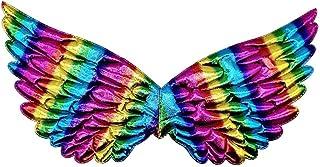 Tutu di Balletto per Ragazze Abiti in Tulle Abito da Principessa Unicorno Dressing Up Angel Wings Party Halloween Fancy Co...