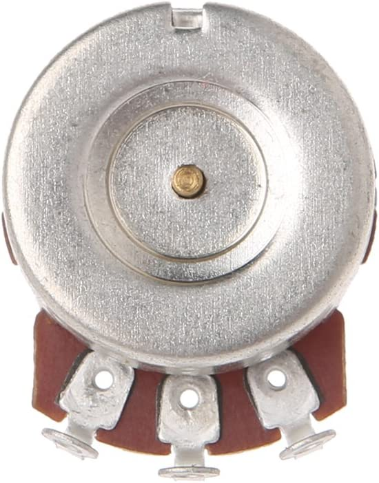 A250K Potenciómetro Splined Pot Guitarra Eléctrica Efecto Bajo Amp Tono Volumen Piezas