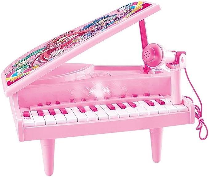 HXGL-piano Teclado Infantil Chica Piano Juguetes Aprendizaje ...
