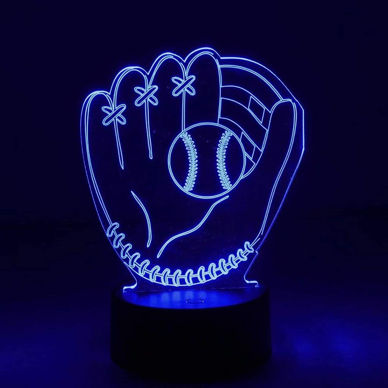 Happy Together LED nachtlicht kreative Cartoon 3D Handschuhe visuelle Desktop Dekoration Bunte nachtlicht tischlampe Geschenk Bett Dekoration Lampe