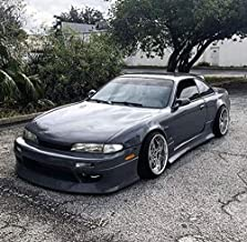 KBD Body Kits Compatible with Nissan 240SX S14 Zenki 1995-1996 DM3 1 Piece Flexfit Polyurethane Front Bumper. Extremely Durable, Easy Installation, Guaranteed Fitment, Made in the USA!