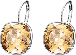 Xuping Gorgeous Fashion Crystals from Swarovski Huggies Hoop Earrings Women Girl Party Jewelry