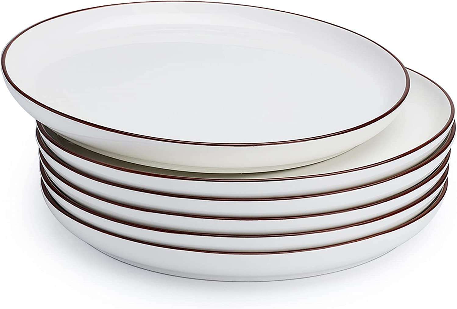 Sweese 164.001 Dinner Plates 10 - Max 47% Popular overseas OFF Porcelain Serving Inches Salad