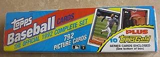 Best 1992 topps baseball cards Reviews