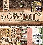 Die Cuts With View-30 x 30 cm, Motivo: Good Wood-Carta