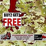 Lm Gi Joe Military Camo Hydrographic Water Transfer Film Hydro Dipping Dip