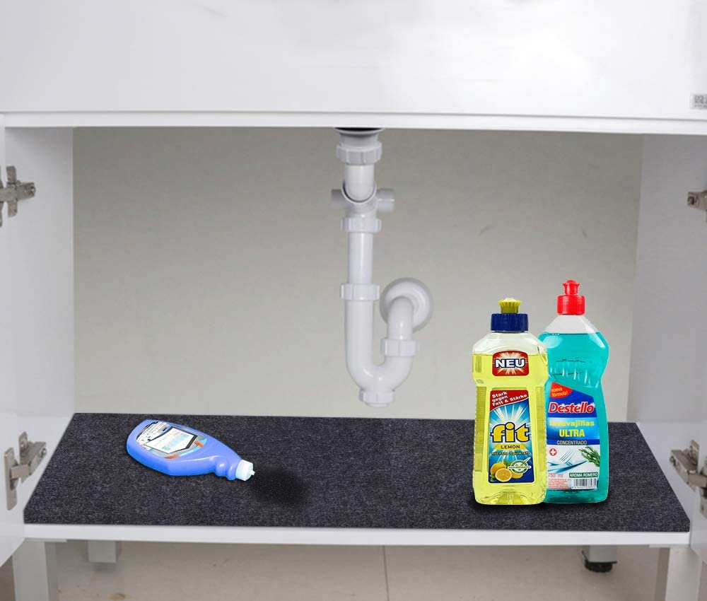 Low price Under Sink Mat Super sale For Cabinet Absorbent Material Drawer Anti-Slip