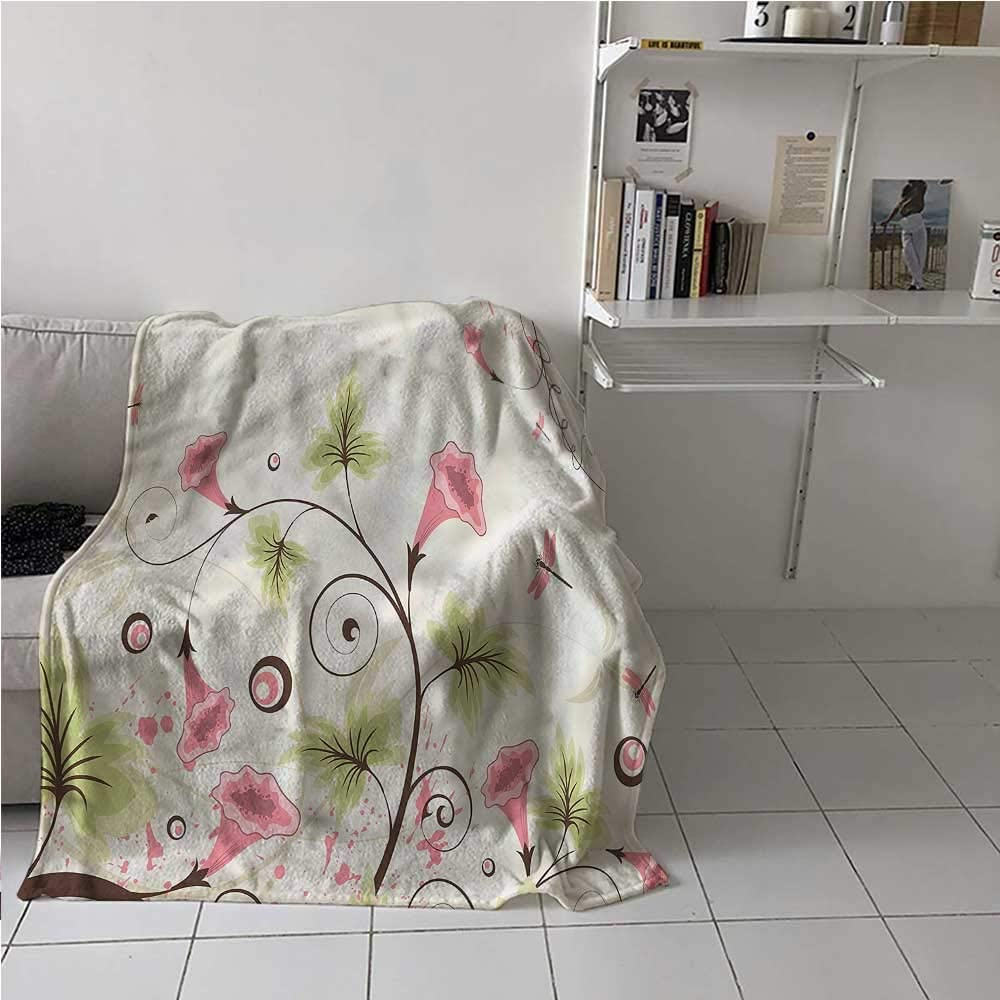 Blanket Warm Dragonfly Easy to Store 『1年保証』 and 購入 Pas with Swirling Carry