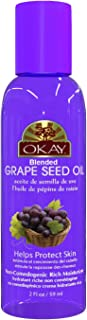 Okay | Blended Grape Seed Oil | For Hair and Skin| 2 Ounce