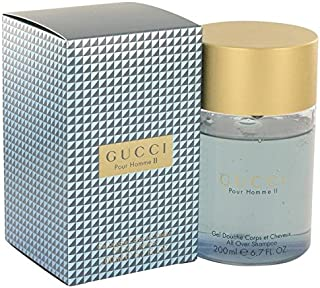 Gucci Pour Homme II by Gucci All Over Shampoo 6.8 oz for Men - 100% Authentic