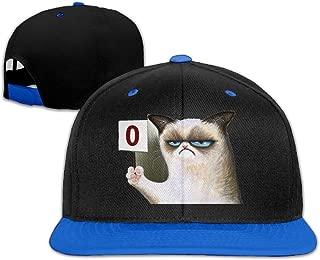 Kim Lennon Grumpy Cat Happy Face Custom Fashion Caps Cap Lightweight High Quality White