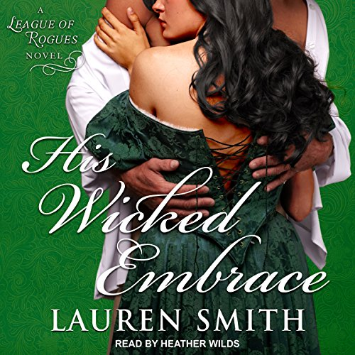 His Wicked Embrace audiobook cover art